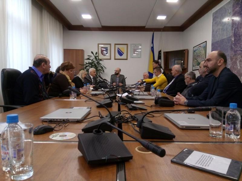 Ministar za rad, socijalnu politiku, raseljena lica i izbjeglice KS primio predstavnike KOO KS